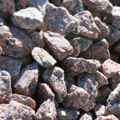 Makadam 16-22 Rödsvart/Granit